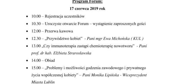 """3 Forum Kobiet NSZZ """"Solidarność"""""""